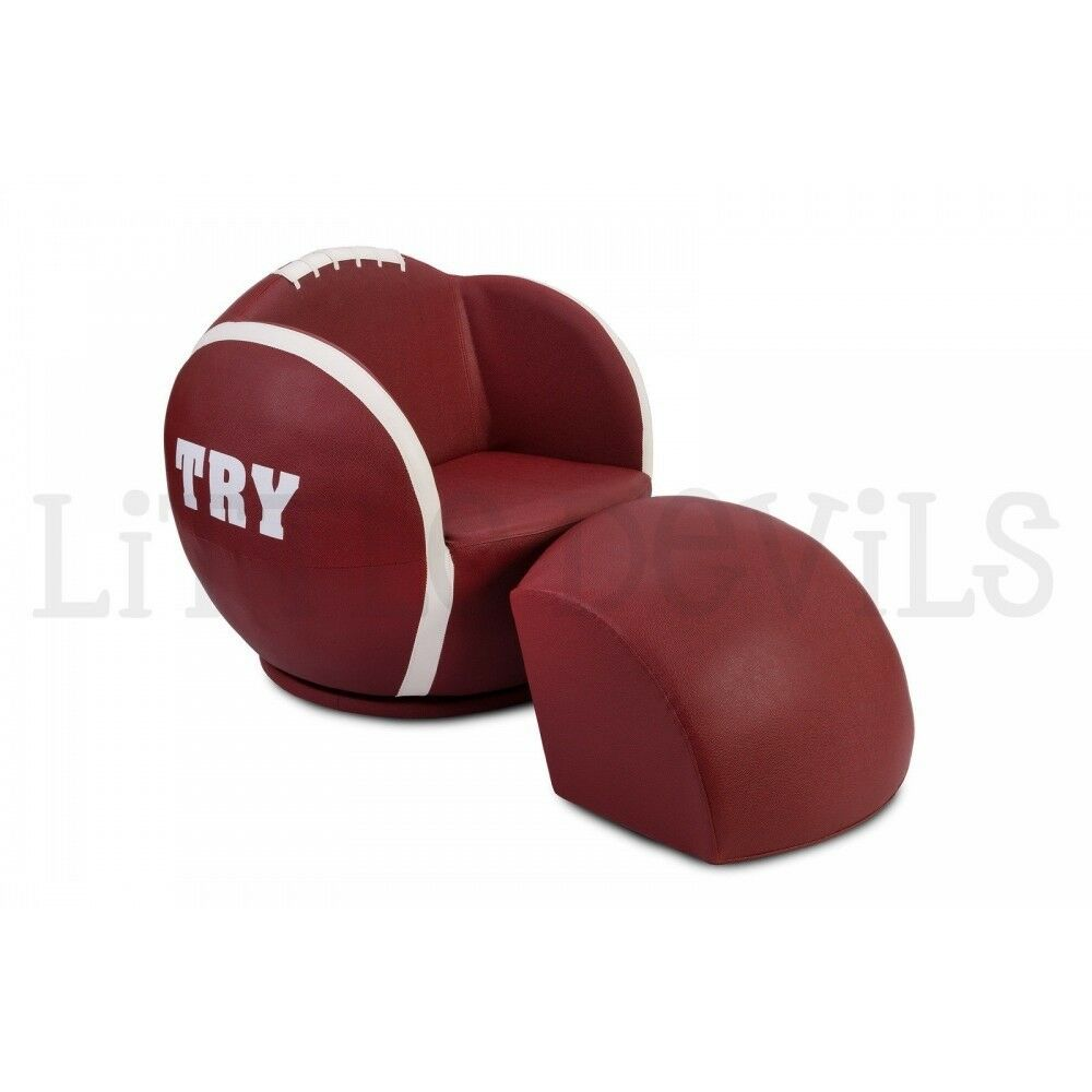 Kids Ball Chair Small Mini Sports Rugby Ball Gaming Sofa Chair For Children Aged 1 4 In Carntyne Glasgow Gumtree
