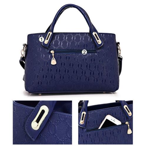 5Pcs/Set Women Lady Leather Handbags Messenger Shoulder Bags Tote Satchel Purse 6