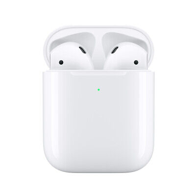 ORIGINAL AirpodS 2nd GENERATION with WIRELESS 24H WIRELESS Charging Case