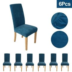 Chair Covers Yeovil Wholesale Cheap Velour Style Light Blue Easy Fit There Are Six Available