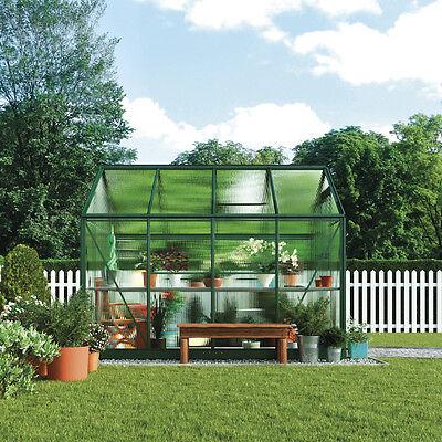 Waltons 6x4ft Aluminium Garden Greenhouse 4mm UV Twin Wall