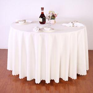 Round Banquet Table Cloth  eBay