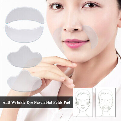 SilcSkin Anti Wrinkle Pads for Face Chest Neck Eyes Anti Aging Products Reusable