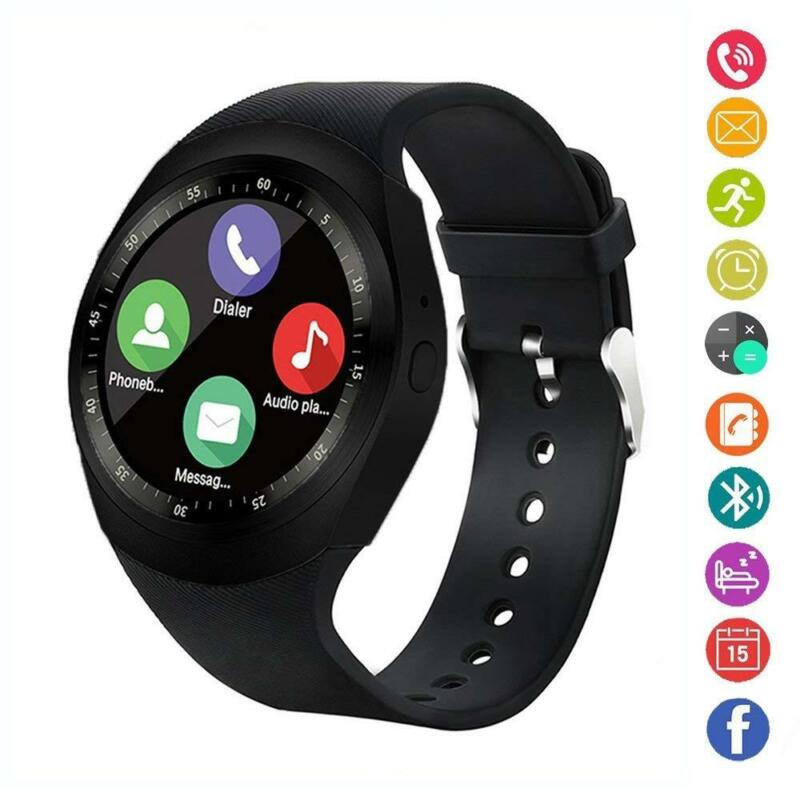 Bluetooth Smart Watch Sport Armbanduhr Wasserdicht MP3 Kamera Schrittzähler