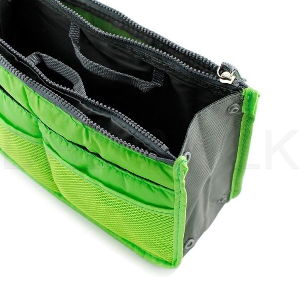 Women Lady Travel Insert Handbag Organiser Purse Large Liner Organizer Tidy Bag 2