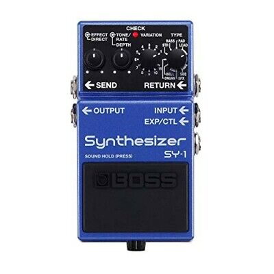 BOSS SY-1 Synthesizer Guitar Effect Stomp Pedal