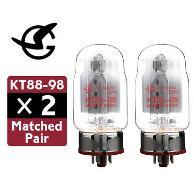 2PCS Shuguang KT88-98 Valve Tube Matched Pair Replace KT88 CV5220 6550