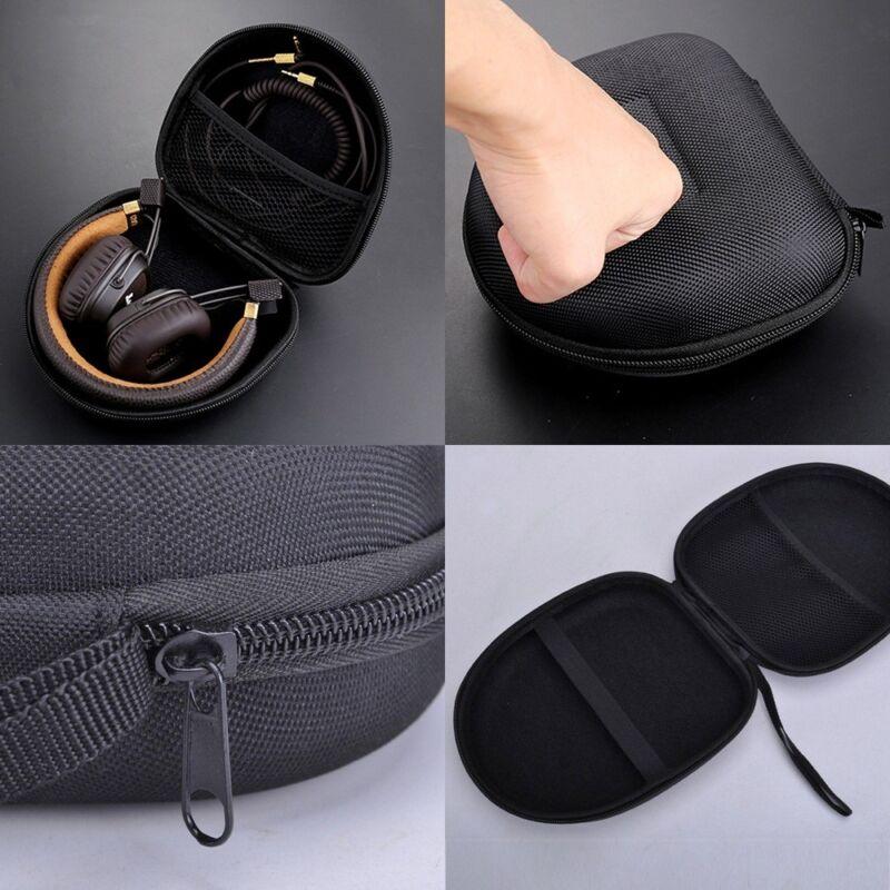 14*14*7cm Schutztasche Tasche Case Bag Etui Box für Ohrhörer Kopfhörer Headset