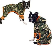 ZACK-ZOEY-Dog-Clothes-Clothing-Jumpsuit-Jacket-Green-Army ...