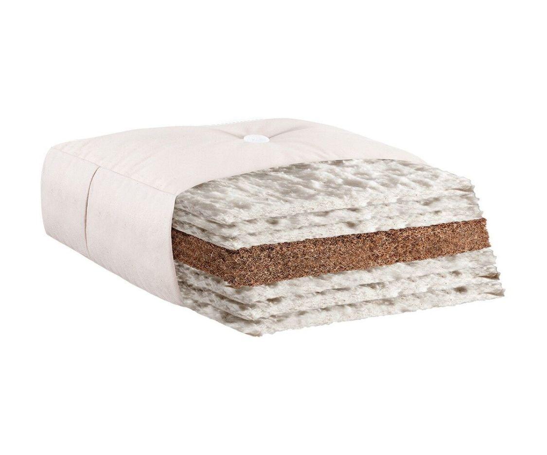 Futon Iwami Kokos natur 140 x 200 cm Baumwolle Matratze Futonmatratze NEU