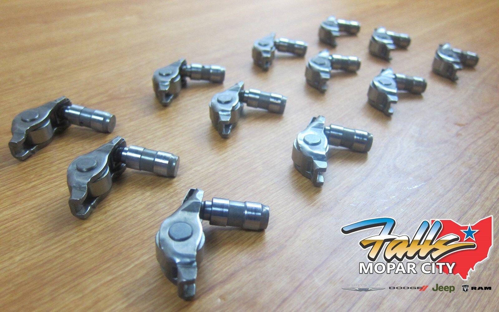 hight resolution of 16 2019 chrysler 3 6l exhaust valve rocker arms w lifter set of 12 mopar oem