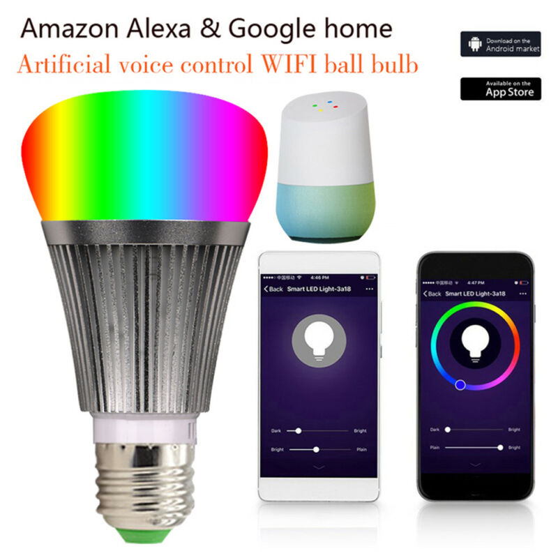 LED Lampe Sonoff B1 E27Smart Dimmbare WIFI APP Fernbedienung RGB Home iOS Pro A