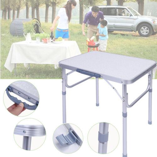 Aluminium Campingtisch Garten Klapptisch Picknick Koffertisch Höhenverstellbar