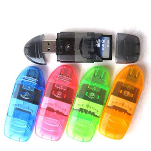 64GB Daten Speicher Stick 2.0 USB Flash Drive für SD MMC SDHC TF-Karte Bis Neu