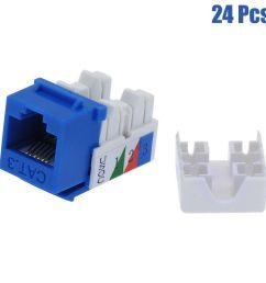 110 keystone wiring diagram wiring library 24 pcs cat3 rj11 rj12 keystone jack telephone phone line [ 1001 x 1001 Pixel ]