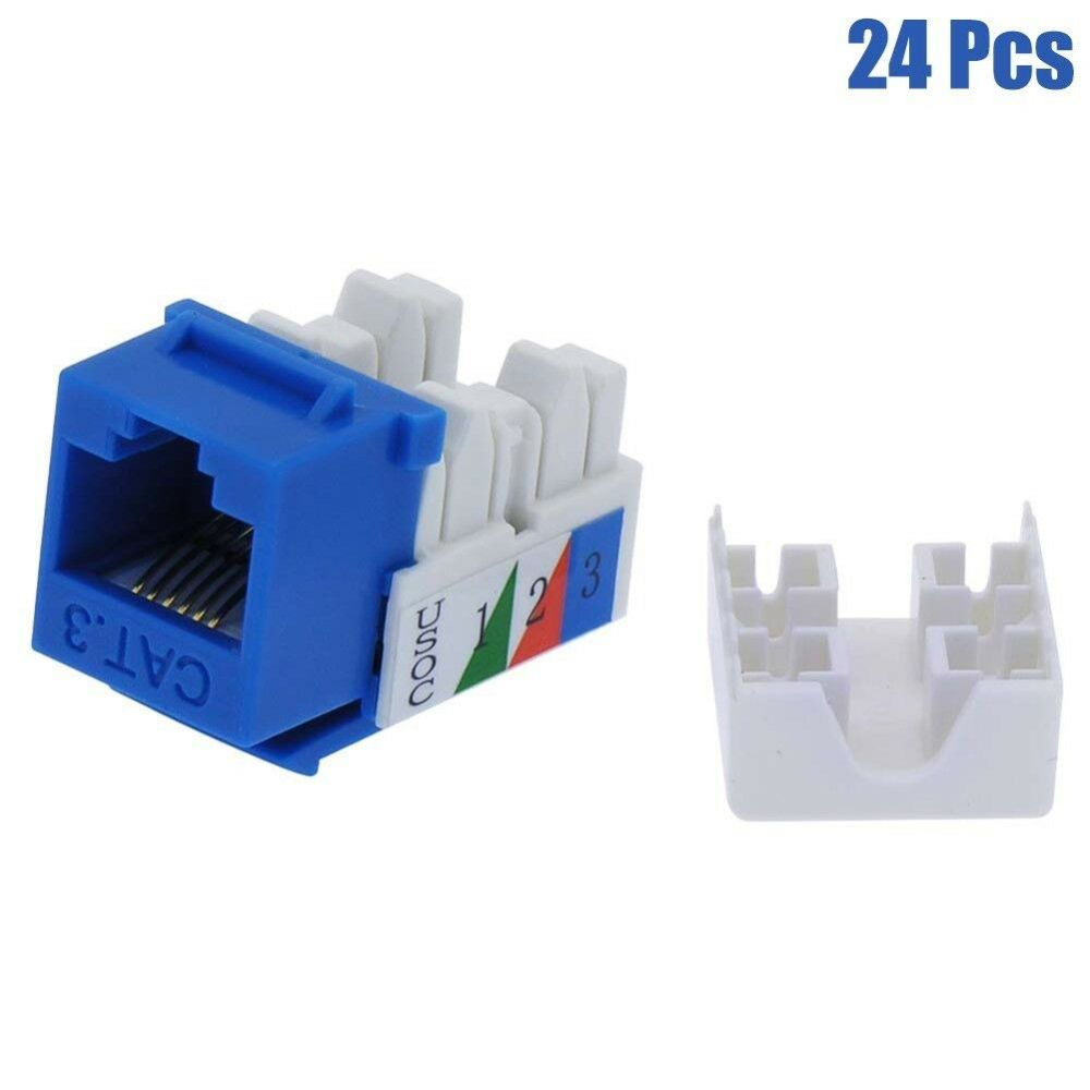 medium resolution of 110 keystone wiring diagram wiring library 24 pcs cat3 rj11 rj12 keystone jack telephone phone line