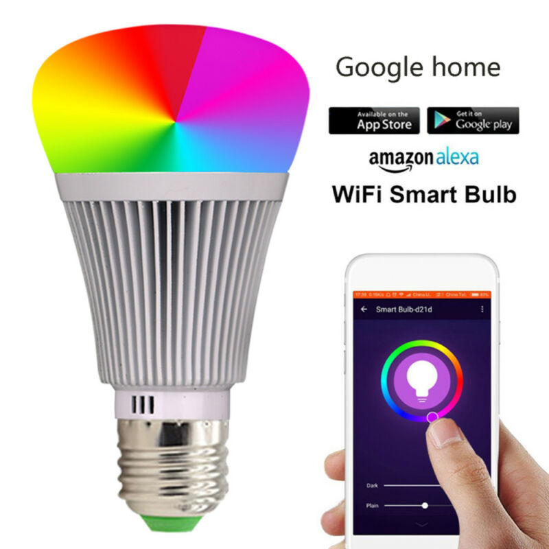 LED Lampe Sonoff B1 E27Smart Dimmbare WIFI APP Fernbedienung RGB Home iOS 1X