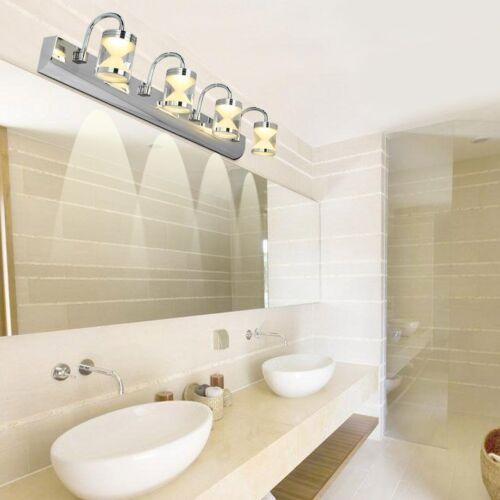 modern led bathroom lighting Modern 3*3W LED Acrylic Bathroom Front Mirror Lights