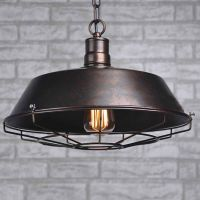 Industrial Rustic Metal Ceiling Vintage Retro Chandelier ...
