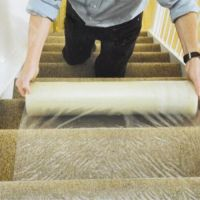 Carpet Floor Protection Self Adhesive Protector Clear Roll ...