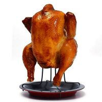 Barbecue Beer Can Chicken Roaster Rack Holder BBQ Grill ...