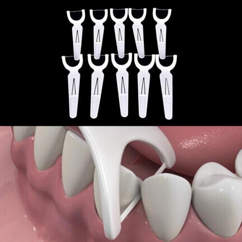 30 Stück  Zahnseide Flosser Sticks Gesundheit Zahn Clean-PicksZahnstocher-Gut