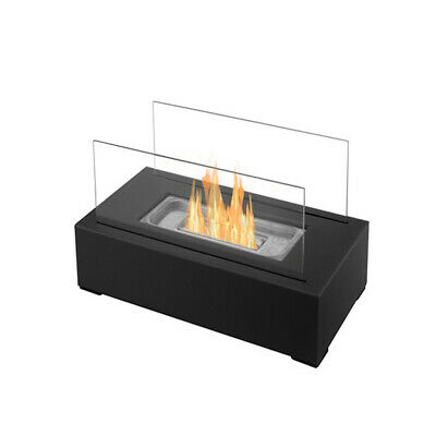 Bio Ethanol Fire Fireplace Portable Camping Tabletop Mini Burner Indoor Outdoor
