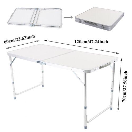 Alu Campingtisch Picknicktisch Klapptisch Falttisch Koffertisch 120*70*60cm WOW`
