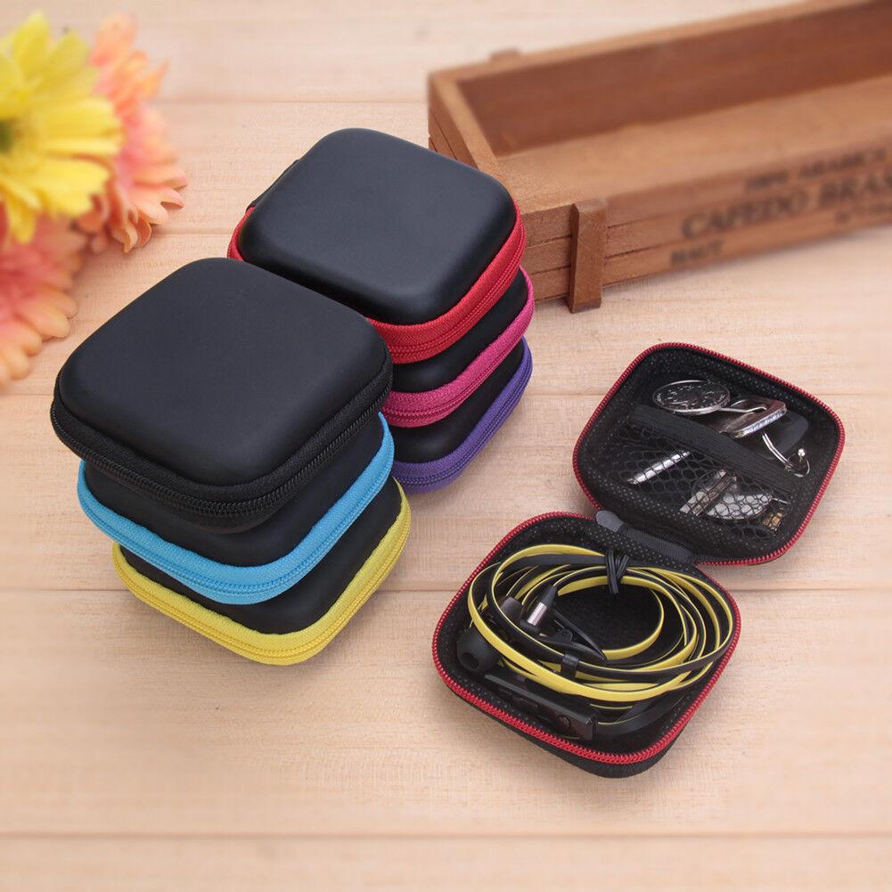 Schutztasche Tasche Case Bag Etui Box für Ohrhörer Kopfhörer Headset SD Karte DE