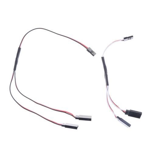 15cm 30cm RC Parts Servo Extension Y Wire Cable for JR