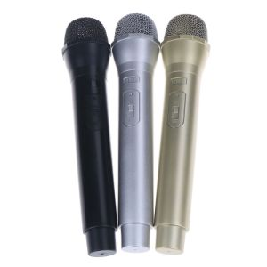 1X Dummy Microphone Simulation Mic Model Shell Performance Props Children Toy ^P