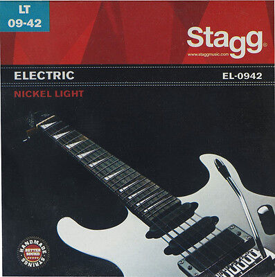 Stagg EL-0942 Electric Guitar Strings Light Gauge Guitar Strings