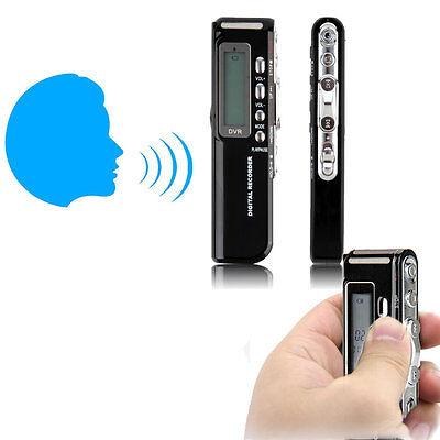 8GB 650Hr USB LCD Screen Digital Audio Voice Recorder Dictaphone MP3 Player TK
