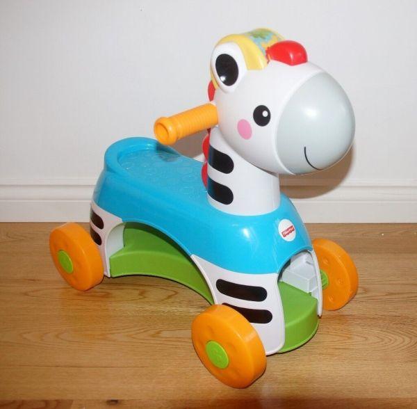 Rollin' Tunes Zebra Ride Musical Toy In Moodiesburn Glasgow Gumtree