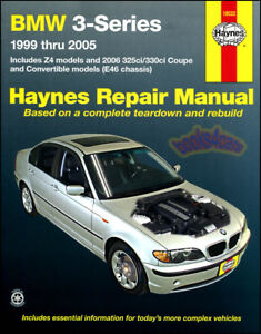 complete parts diagram e46 1996 dodge dakota wiring bmw service manual ebay shop repair book 3 series z4 haynes chilton