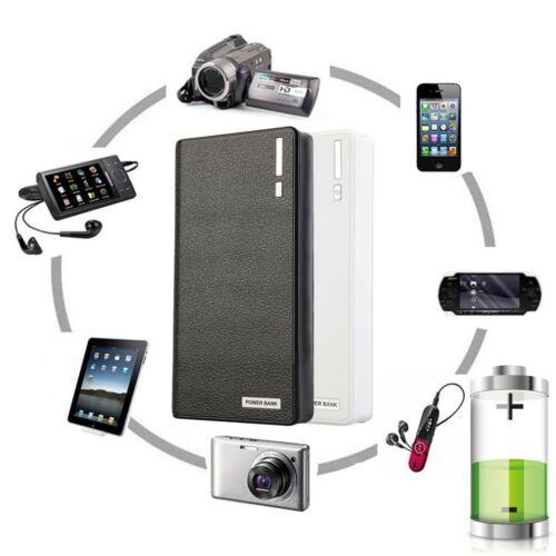 Universal Power Bank externe 50000mAh Akku Ladegerät Zusatzakku Batterie 2 USB