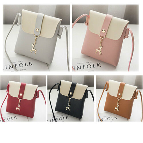 Women Leather Handbag Shoulder Lady Cross Body Bag Tote Messenger Satchel Purse 2