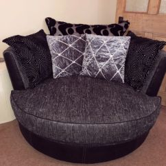 Swivel Cuddle Chair York Stool Making Dfs In North Yorkshire Gumtree