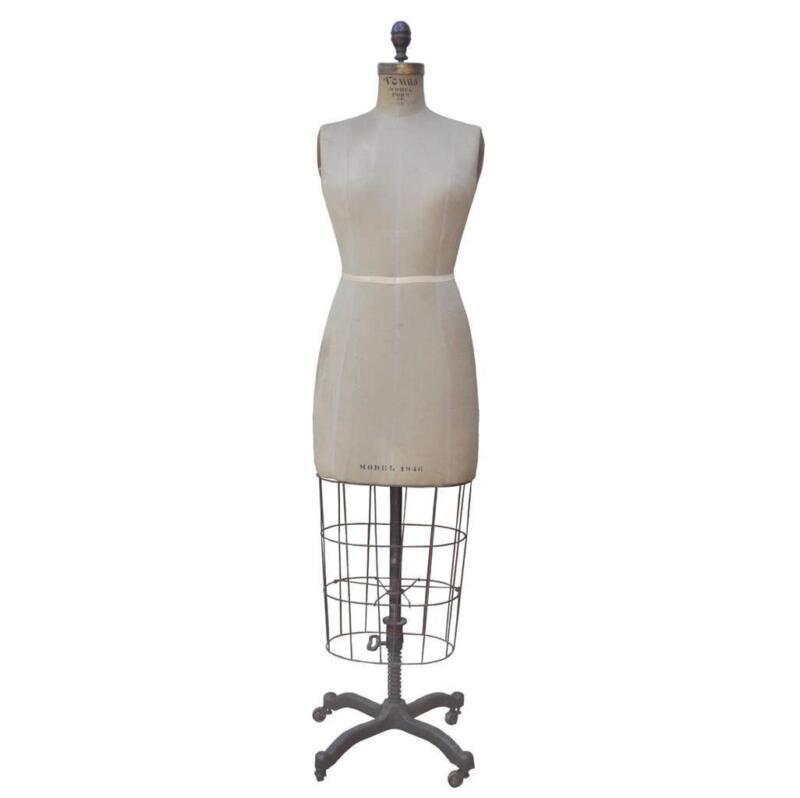Vintage adjustable dress form ebay