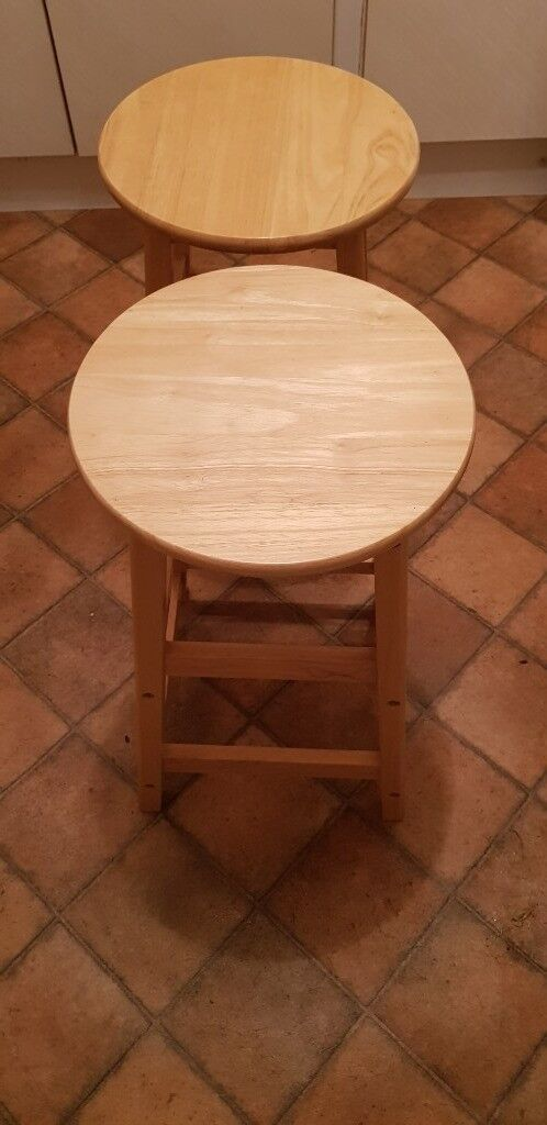 bedroom chair gumtree ferndown vistage compensation two pine stools in dorset tammy