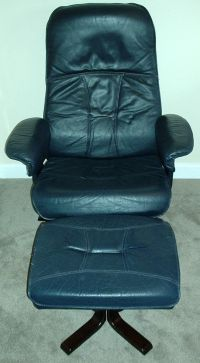 Swivel recliner chair footstool buy or sell