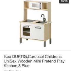 Childrens Play Kitchen 42 Inch Sink Ikea Duktig Children S Unisex In Sheffield South