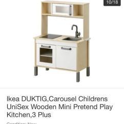Childrens Play Kitchen Chalkboard Ideas For Ikea Duktig Children S Unisex In Sheffield South