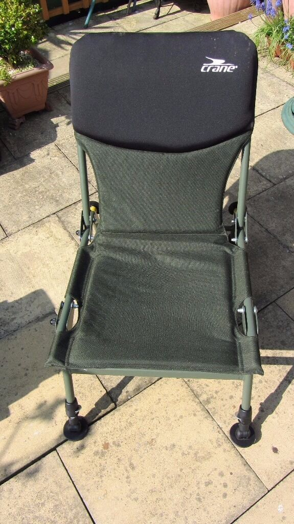 fishing chair crane thomas and friends table chairs folding in narborough leicestershire gumtree