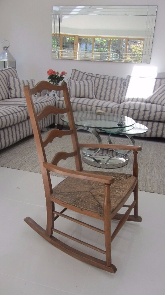 1920s rocking chair sears canada outdoor lounge chairs beautiful 1920 s style with rush seat in whittle le