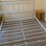 White Metal Double Bed Frame In Northfield West Midlands Gumtree