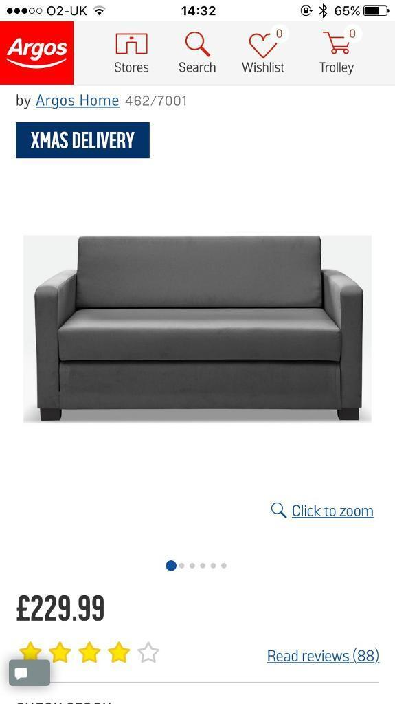 argos ava fabric sofa review small home office bed in worsley manchester gumtree