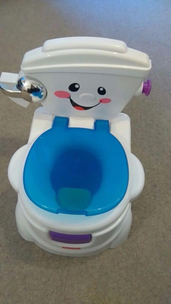 singing potty chair ozark trail folding fisher price in london gumtree