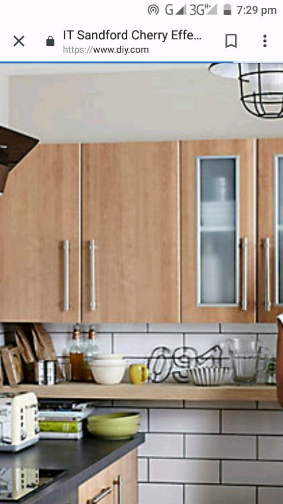 b&q kitchens cheap kitchen tile it exclusive to b q cherry style modern doors in