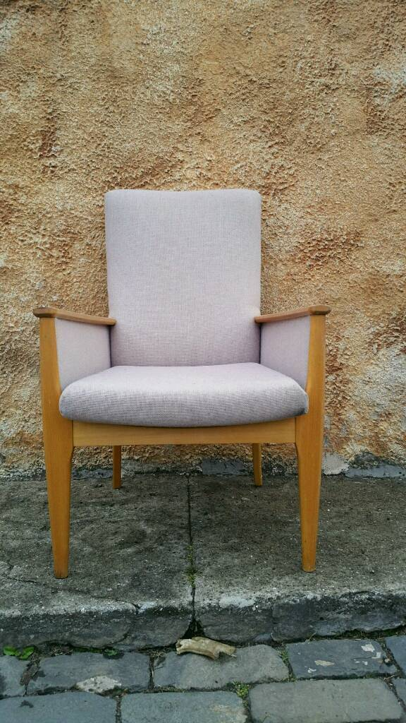 recliner chairs gumtree how to clean leather vintage parker knoll arm chair retro lounge nursing restoration upcycle | in rosyth, fife ...